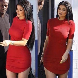 Dresses & Skirts - KYLIE JENNER INSPIRED RED DRESS